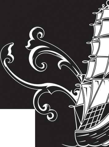 American Art half logo